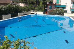Attico con piscina a Rapallo