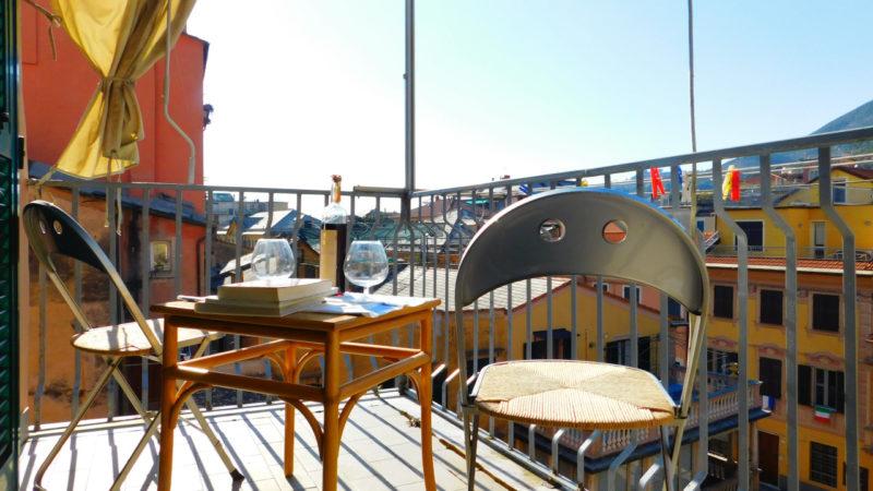 terrazza centro storico Levanto in vendita